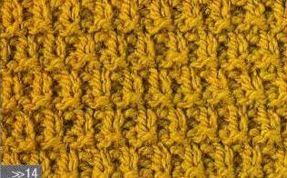 Patrón #1336: Punto Tupido a Dos Agujas | CTejidas [Crochet y Dos Agujas]