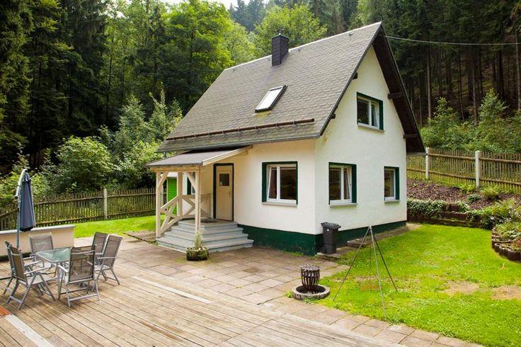 Die Ferienhäuser Steintal Geraberg im Naturpark Thüringer