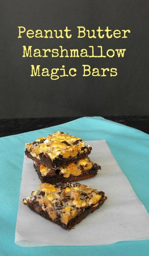 Peanut-Butter-Marshmallow-Magic-Bars