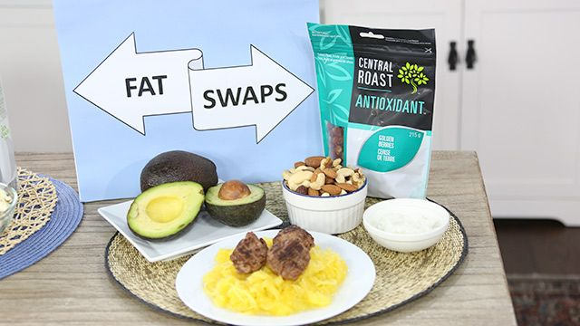 Trade Up the Bad Fat for Good Fats #HealthyEating
