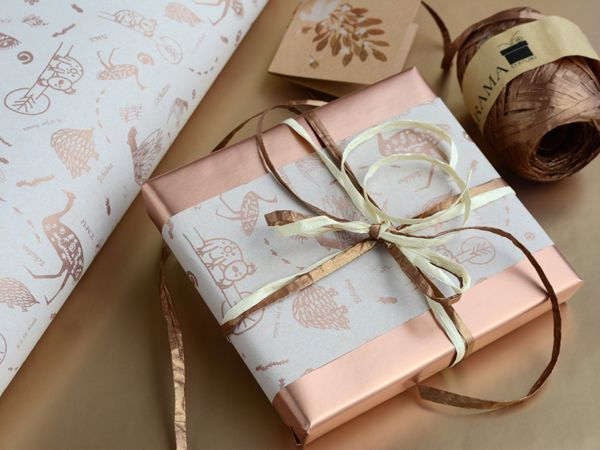 Sweet 'Australian Animals' Wrapping paper - perfect for any occasion.