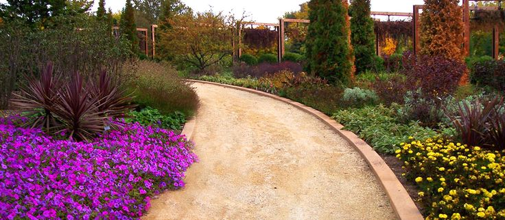 how to make a decomposed granite path patio area