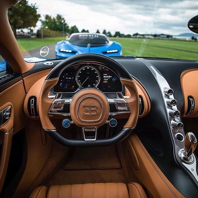 Inside The Cockpit Of A Bugatti Chiron Via Thisisamans Toy Have A Nice Ni Athisisamans Bugatti Chiron Cockpit Inside Luxurycars Coolcars Anci