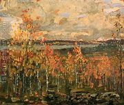 Hillside  by Arthur Lismer