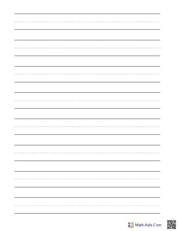 Plane paper to write on
