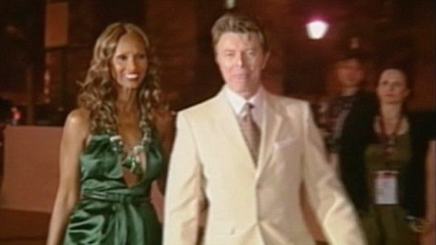 David Bowie's wife Iman Abdulmajid posted a moving message on social media on the day of her husband's death.