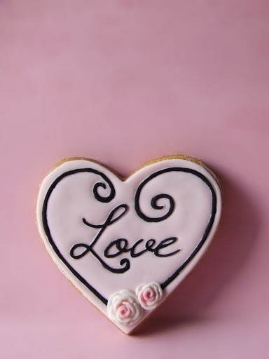 #love wedding cookies