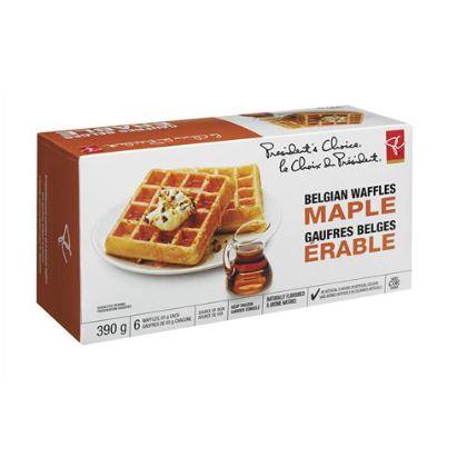 PC Maple Belgian Waffles