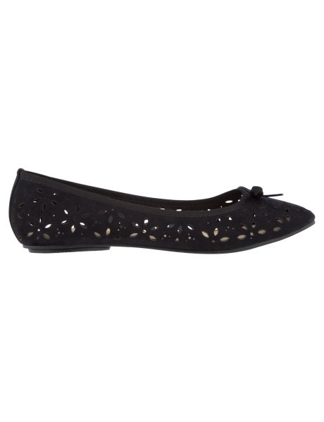 Cute! Salucci Collection Petal Cut Out Ballet Flat #NewandNow