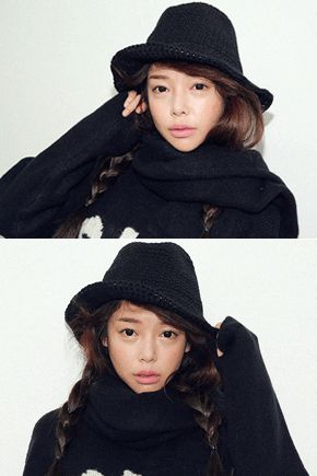 Chic Knitted Wired Fedora Hat
