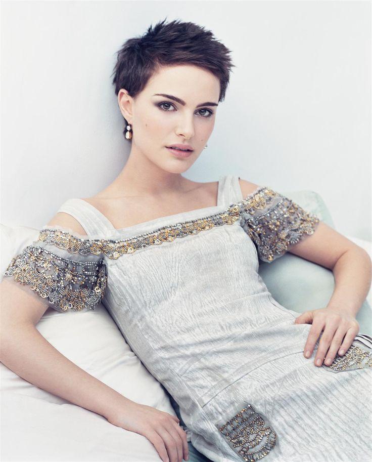 Natalie Portman Short Hair | Natalie Portman, women, short hair