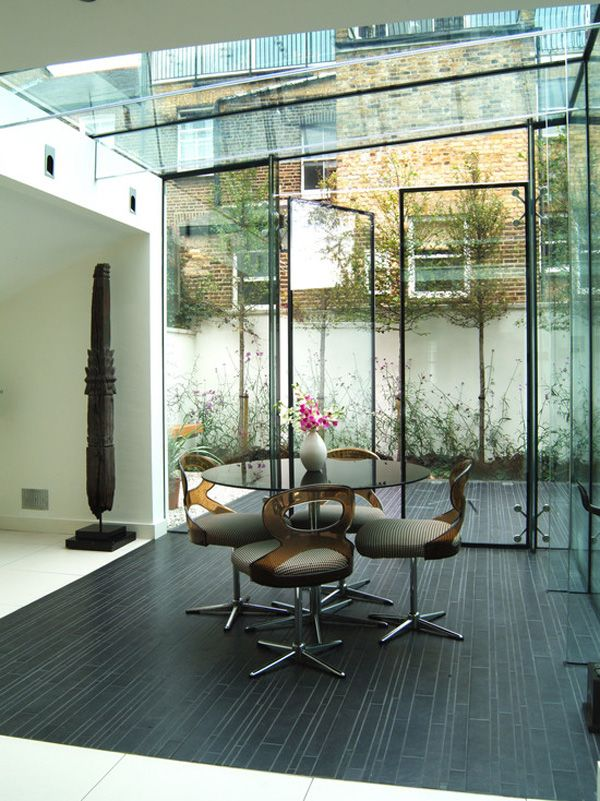 House Extensions Made Of Glass | InteriorHolic.com