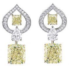 RADIANT SWIRL EARRINGS l William  Goldberg ~Breathtaking Diamond Jewelry