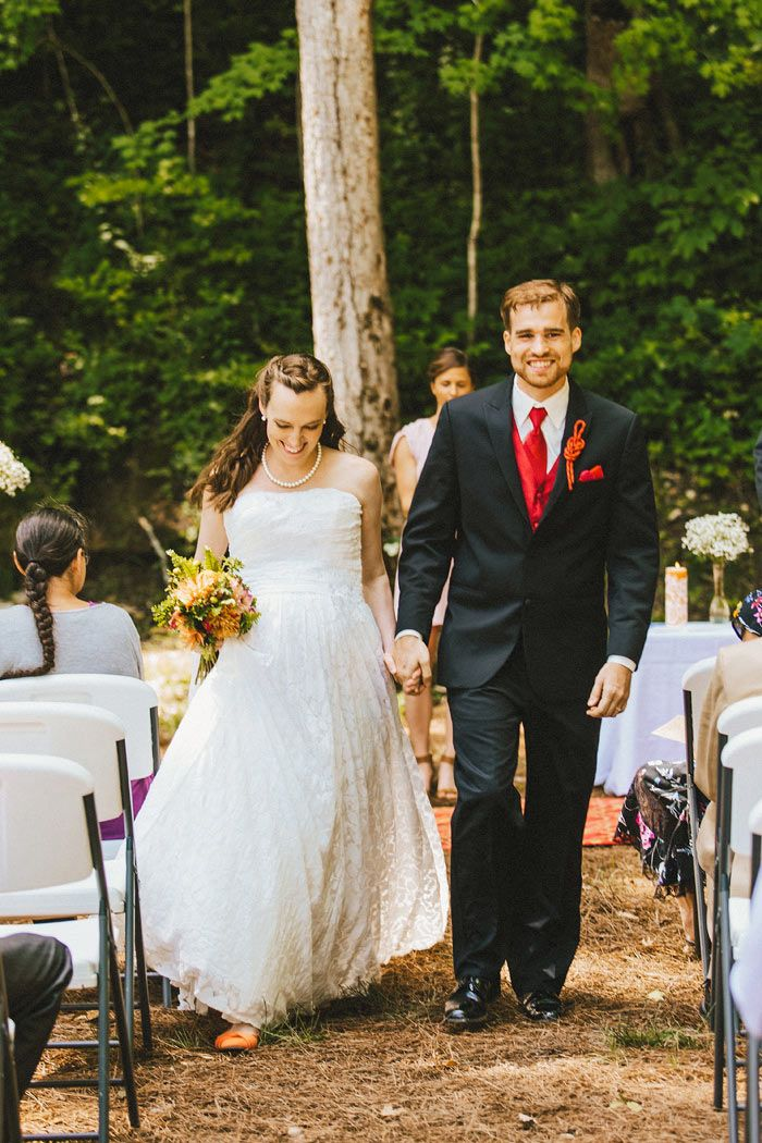 Anne And Tony S Red River Gorge Retreat Wedding