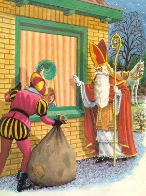 Sint en Piet come to visit!