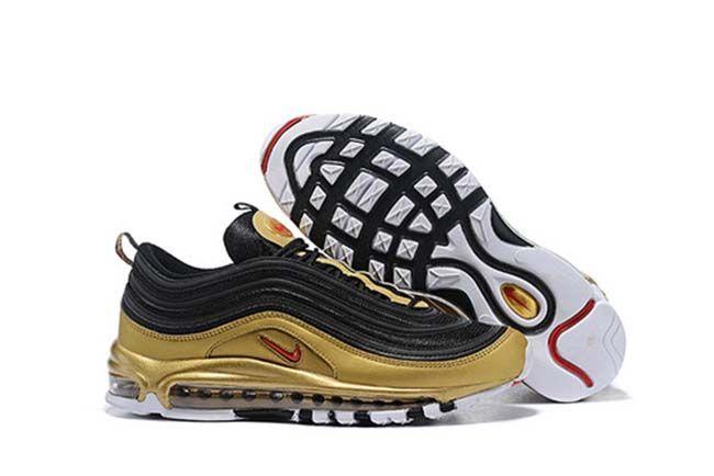 Glamour Cabra Larry Belmont  Nike Air Max 97 Nike Air Max 97 Qs Retro Women Men Jogging Shoes Black Gold  36-46-48491894 Whatsapp:86 1805… | Nike air max for women, Nike air max, Nike  air max 97