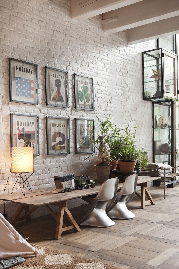 Chez Marloes Hoedeman  Idées de décor, Meubles de salon blanc