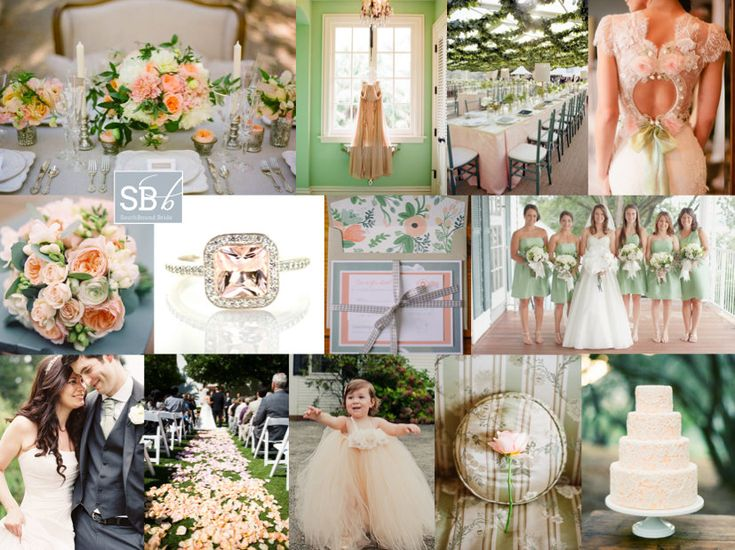 45 best Shylas Peach and Mint Green Primitive Wedding Ideas