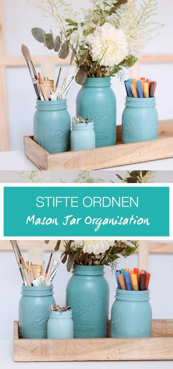 Mason Jar Organisation
