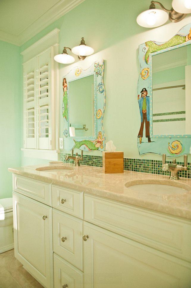 25 best Boy\'s bathroom images on Pinterest   Sea monsters, Bathroom ...