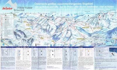 Ski Welt (Wilder Kaiser – Going februari 2003, Scheffau, Ellmau) - SkiMap.org