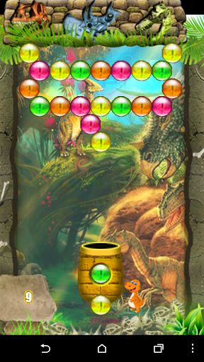 """Are you a Bubble Popper master?<br> <br>Dinosaur bubble shooter Pro game by """"SunShineApps"""" includes 1550 colorful fun, and challenging levels + additional 250+ levels in ARACDE mode for the extra competitive bubble shooter players among you!<p>State of the art algorithm, clean design and original concept makes it stand out more than all the other bubble shooter games. <p>Think fast, play smart! <p>Download dinosaur bubble shooter game now, play it, have fun and enjoy yourself.<p>Once you…"""