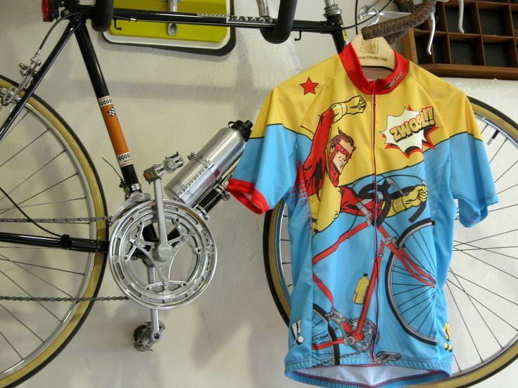 Bikeman Begins #dryfit #cycling #jersey by SpeakStick