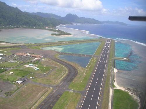 Pago Pago airport Samoa