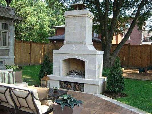 Outdoor Fireplaces Amp Fire Pits Indiana Limestone Paneled