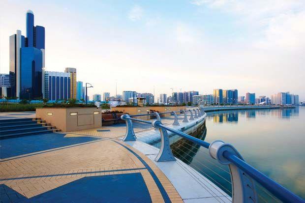 A picturesque view of the popular Abu Dhabi Corniche! #LemeridienAD #Lemeridienabudhabi