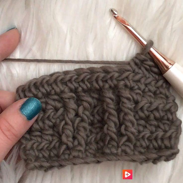 Crochet Cables without gaps