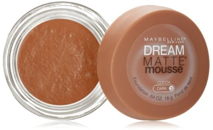 Maybelline Dream Matte Mousse Foundation, Cocoa, Dark [3], 0.64 oz (Pack of 2) ** Read more  at the image link.