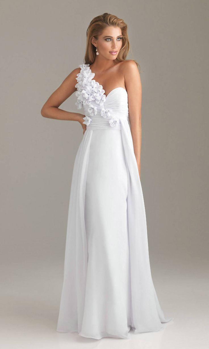 32 best White Prom Dresses images on Pinterest | White prom ...