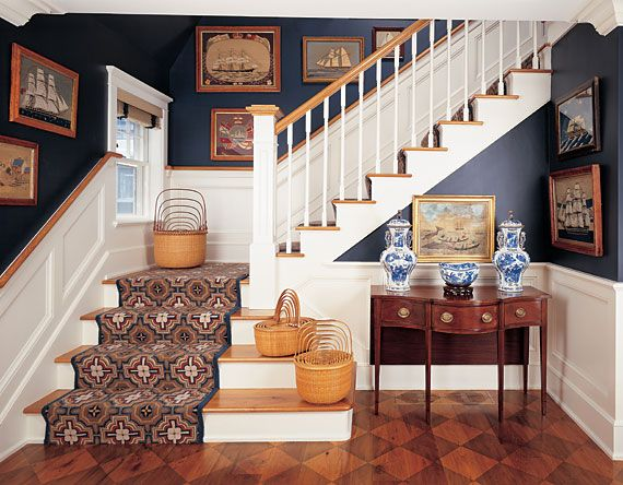 Lifestyle: A Sailor's Life for Me; Maritime Artifacts and Antiques in a Nantucket Home by Betsy Tyler