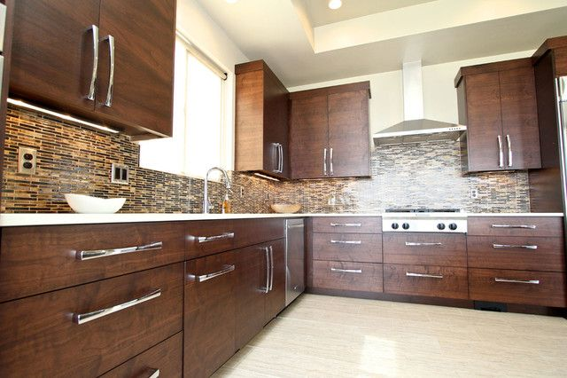 Coolest Walnut Kitchen Cabinets 23 With A Lot More Interior Design Ideas For Home Design with Walnut Kitchen Cabinets