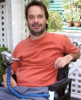 Wheelchair camera mount. >>> See it. Believe it. Do it. Watch thousands of spinal cord injury videos at SPINALpedia.com