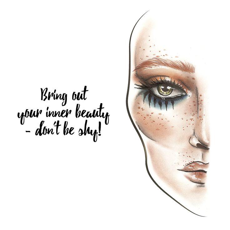 #facechart #quotes #makeup #inspiration