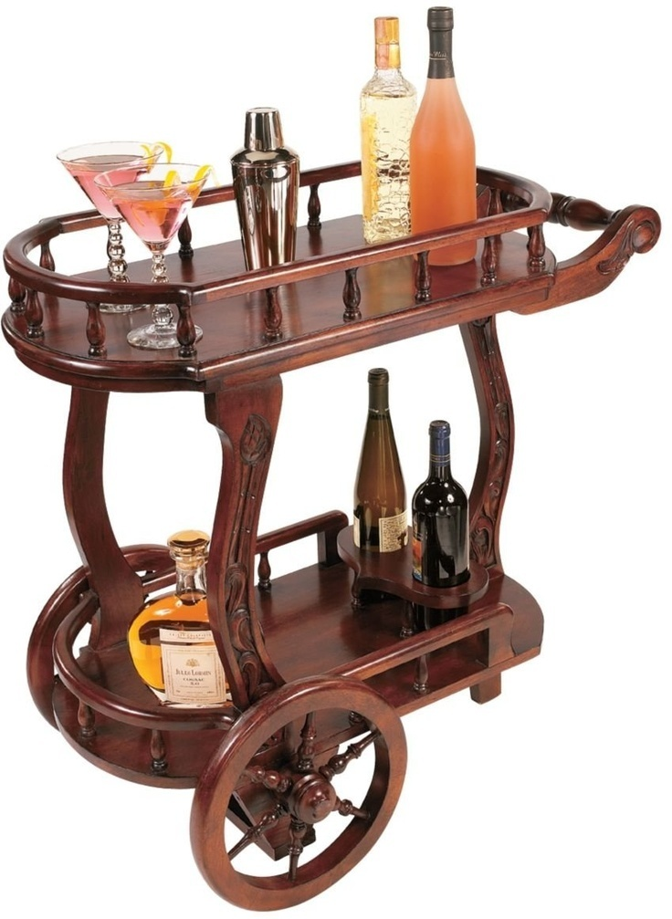 Wood Serving Cart ~ Images about serving cart on pinterest modern bar