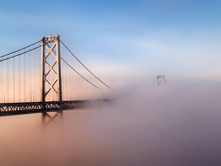 a steel bridge by VaggelisFragiadakis