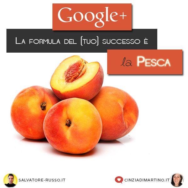 La formula del (tuo) successo su GooglePlus dall'articolo  di Salvatore Russo e Cinzia Di Martino: http://lnx.cinziadimartino.it/blog/formula-successo-su-googleplus/