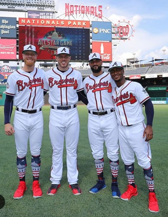 sports shoes 327f4 e306f Faulty, Freeman, Markakis and Albies ready f0r the All Star ...