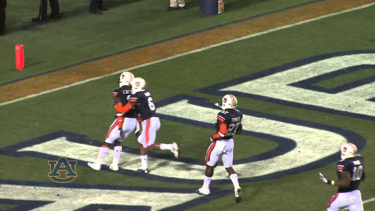 The single MOST exciting ONE SECOND of Auburn football I've ever witnessed!!  WAR DAMN EAGLE!