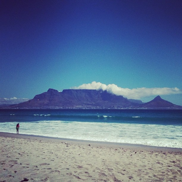 The view of Table Mountain from Blouebergstrand in Cape Town is one of the most beautiful in the world