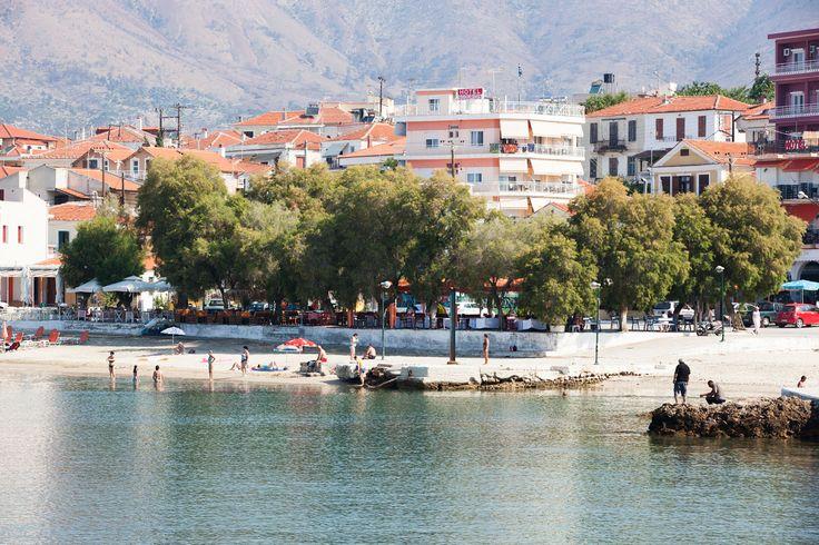 Limenariassa ranta sijaitsee keskellä kaupunkia, jonka vuoksi siellä on enemmän rantatunnelmaa kuin Thassoksen kaupungissa, ainakin lähinnä rantaa olevissa kortteleissa. #Thassos #Kreikka #Greece #travel #beach #matka #loma #tjäreborg #letsgo #parhaatviikot