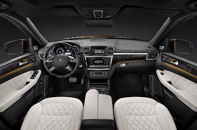 New Mercedes GL SUV... Comfort!