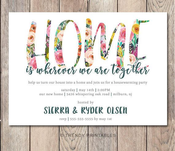 25 best ideas about Housewarming party invitations – Party Invite Website