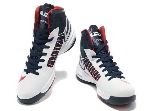 Nike Lunar Hyperdunk 2012 USA Home Olympics,Style code:524934-102,The