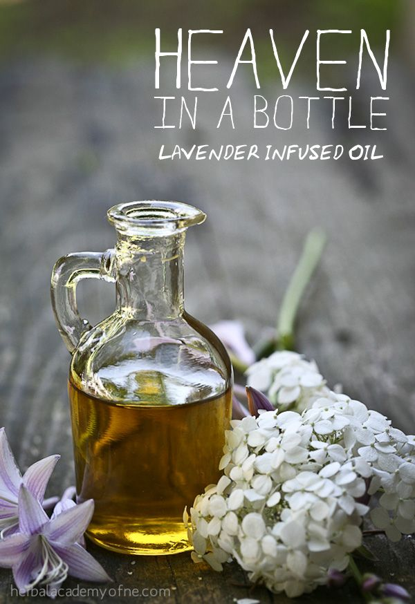 Make use of that bumper crop of lavender in the garden with this Lavender Infused Oil Recipe. So useful all summer long!  #diy #herbalism