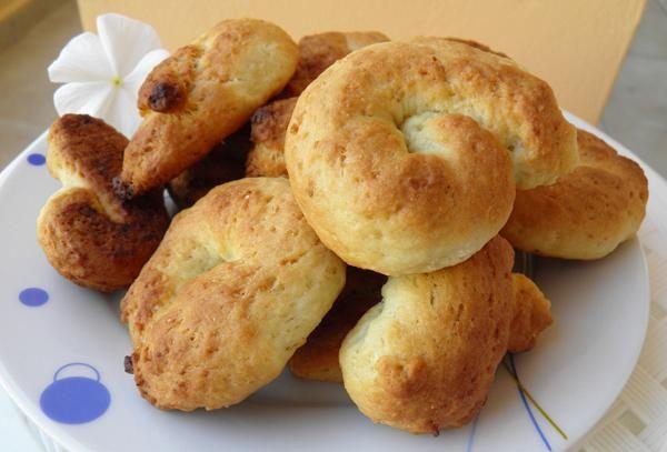 Κουλουράκια με ινδική καρύδα - Συνταγές Μαγειρικής - Chefoulis