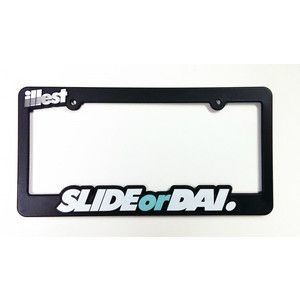 Buy your illest (Slide or Dai) license plate frame here